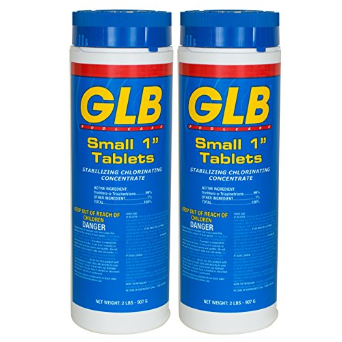 GLB Small 1 Inch Tablets (2 lb) (2 Pack)