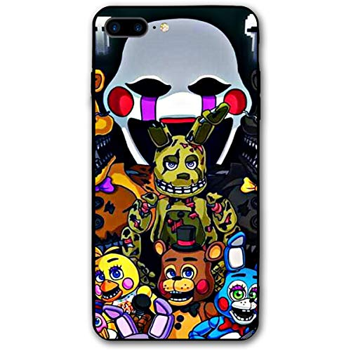 Five Nights at Freddy's 2 Anti-Scratch Bumper Soft PC Back Protection Case Shockproof Slim Fit Cover for iPhone 8 Plus/iPhone 7 Plus