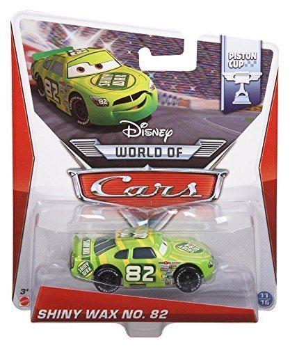 Cars Shiny Wax - Pixar Disney Cars 1:55 Scale Diecast Shiny Wax No. 82 Metal Toys