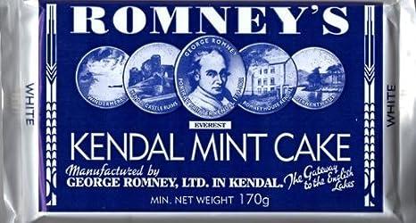 ROMNEYS 170W KENDAL MINT CAKE 170G WHITE 1 BAR