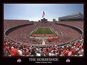 Amazon Com Ohio State Buckeyes The Horseshoe Ohio