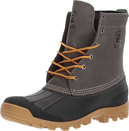 Kamik New Men's Yukon 6 Boot Charcoal 10 ()