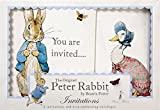Meri Meri Party Invitations, Peter Rabbit - Boxed