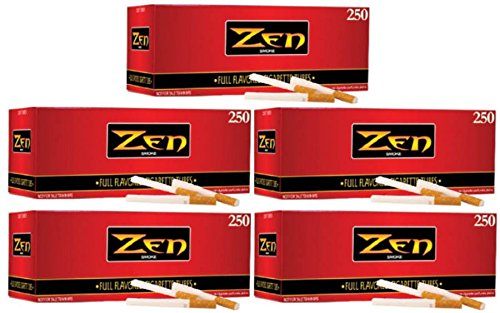 Zen Smoke Full Flavor King Size Cigarette Filter Tubes - Flavor Cigarette Full