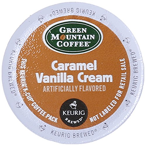 Green Mountain Coffee Caramel Vanilla Cream, K-Cup for Keurig Brewers, 24-Count (Pack of 2)