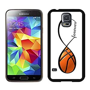 Basketball Forever Basketball Infinity Forever Samsung Galaxy S5 Case Black Cover