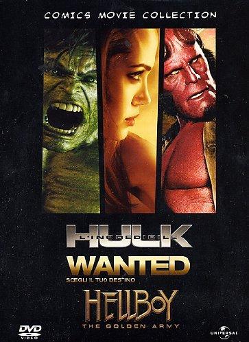 Comics movie collection - Hulk + Wanted + Hellboy II Italia ...