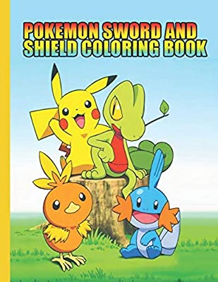 Pokemon Sword And Shield Coloring Book Pokemon Coloring Books For Kids Children Toddlers Crayons Adult Mini Girls And Boys Large 8 5 X 11 50 Coloring Pages Press Creative Publishing Amazon Sg Books