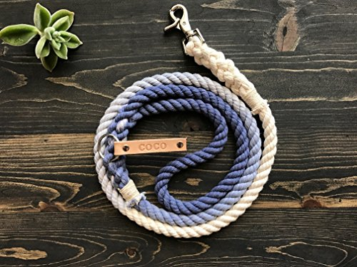 Ombre Rope Leash FREE personalization product image