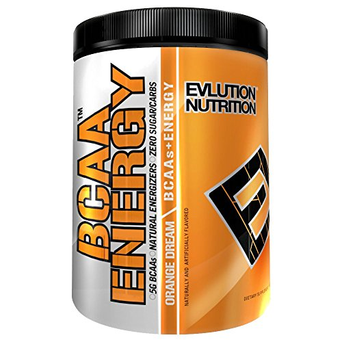 Evlution Nutrition BCAA Energy, Orange, 30 Servings