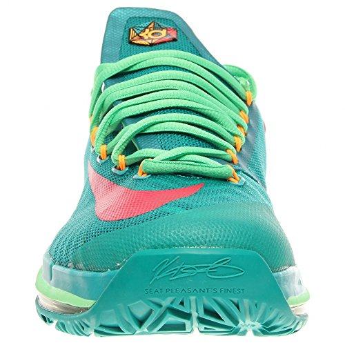 Nike KD VI 6 Elite Series Zapatillas Deportivas Baloncesto para Hombre Verde/Rosa/Sombra 300