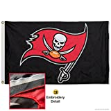 Tampa Bay Buccaneers Embroidered Nylon Flag