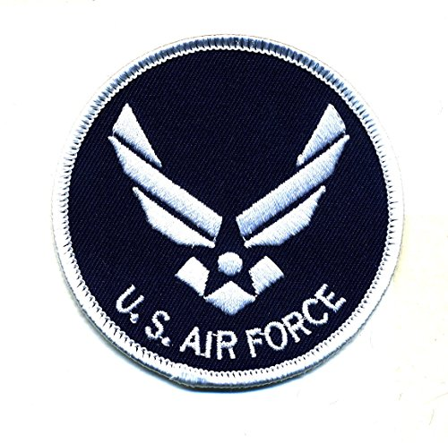 Embroidered Iron On Patch - US Air Force 3