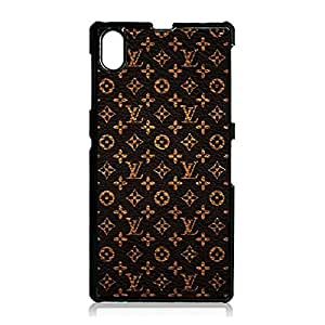 Sony Xperia Z1 Compact LV Logo Mobile Phone Case,Luxury Fashion Louis classic Vuitton Logo Design Delicate Phone Case for Sony Xperia Z1 Compact