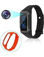 Sport Montre caméras cachées 1080 P Bracelet Intelligent Style Mini caméra vidéo Espion avec Affichage du Temps et Manuel Multi-Langue