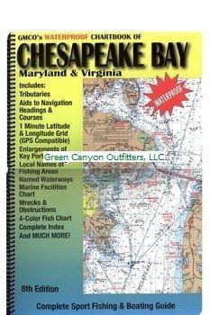 GMCO 14000 Chartbook for Chesapeake Bay, Maryland and Virginia (Chart Fishing Bay)