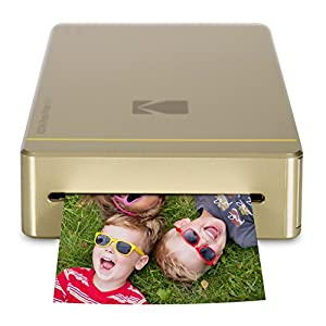"Kodak Mini Mobile Wi-Fi & NFC 2.1 x 3.4"" Photo Printer with Advanced Patent Dye Sublimation Printing Technology & Photo Preservation Overcoat Layer Compatible with Android & iOS"