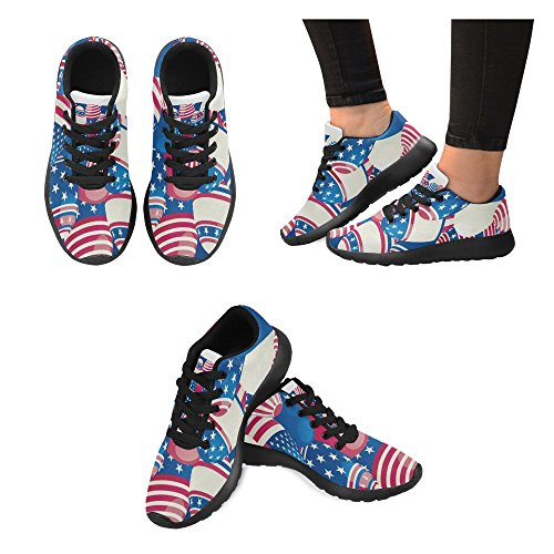 Running 5 Walking Multi Athletic Shoes Trail Jogging Lightweight Sneakers Womens InterestPrint Sports WwqnEO0FqP