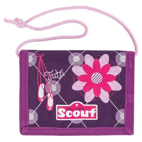 Scout Brieftasche Fahrausweishülle, Lila