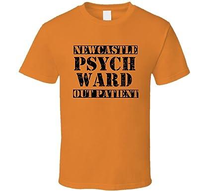 newcastle utah psych ward funny halloween city costume t shirt s orange