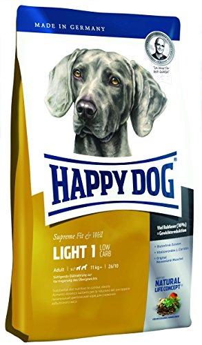 Happy Dog 60076 Hundefutter Supreme Fit und Well Light 1 - Low Carb, 12.5 kg, XL