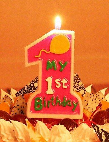 ChristinaC Prime velas de cumpleaños de los niños del ...