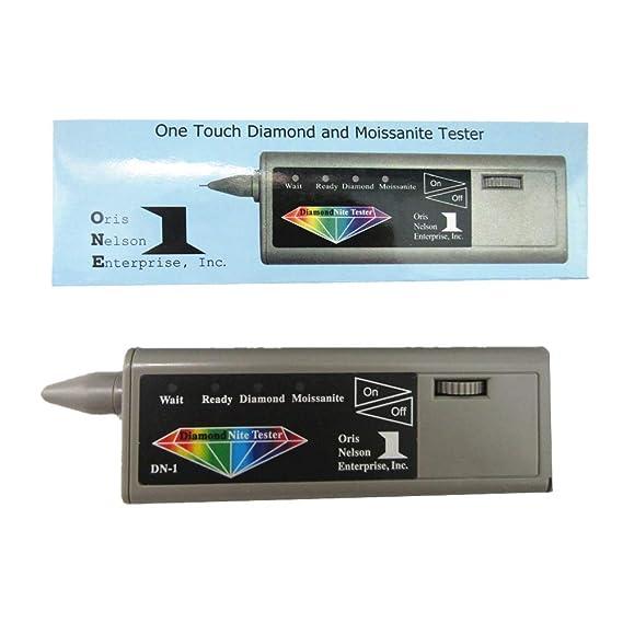 Detector de joyas 2 en 1 de tester de diamantes y moissanita: Amazon.es: Bricolaje y herramientas