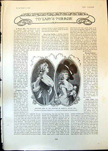 Duchess Of Devonshire Costume (Duchess Devonshire Costumes Countess Dudleys Ball Pendant Chain19 393Q007)