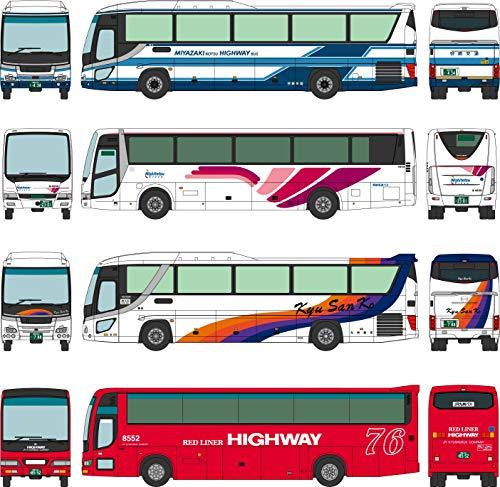 더・버스 콜렉션 버스 코레 피닉스호 30주년 기념 4대 세트 디오라마 용품 (메이커 첫 수주 한정 생산)