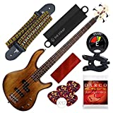 Cort Action PJ Series 4-String Electric Bass, Open