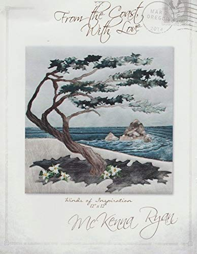 McKenna Ryan Quilt Pattern, from The Coast with Love Collection - #1 Winds of Inspiration (12'' x 12'') by Pine Needles