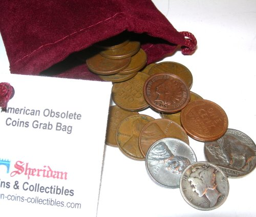 Moenich's American Obsolete Coin Grab Bag - 29 Coins