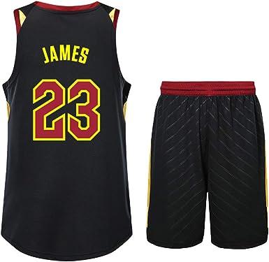 Es un Regalo para NO.23 fanáticos de Lebron James Jersey de ...