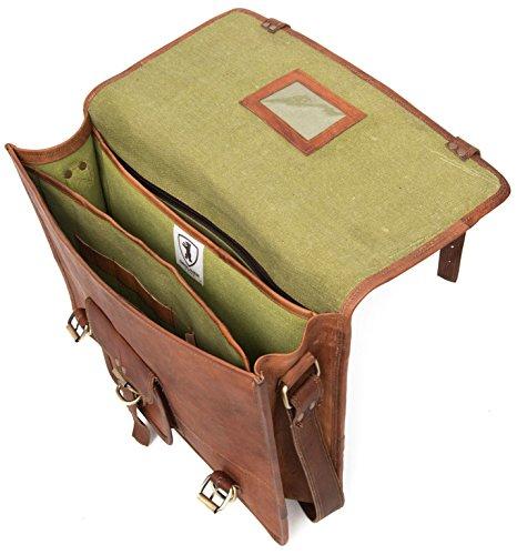 Berliner Bags Berlin M (No handle) - Bolso bandolera  Hombre unisex Mujer marrón marrón medium