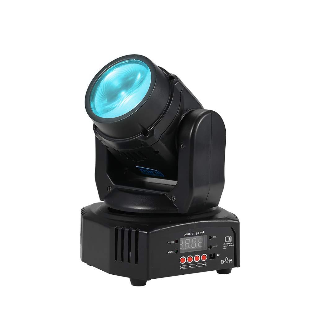 Luz de Escenario, Tomshine 25W Haz de LED Cabezas Discoteca, 7/13 Channel Compatible, DMX512 / Control de Sonido Activado/Auto Run/Maestro-esclavo para Bar DJ Show KTV Fiesta Decoració n