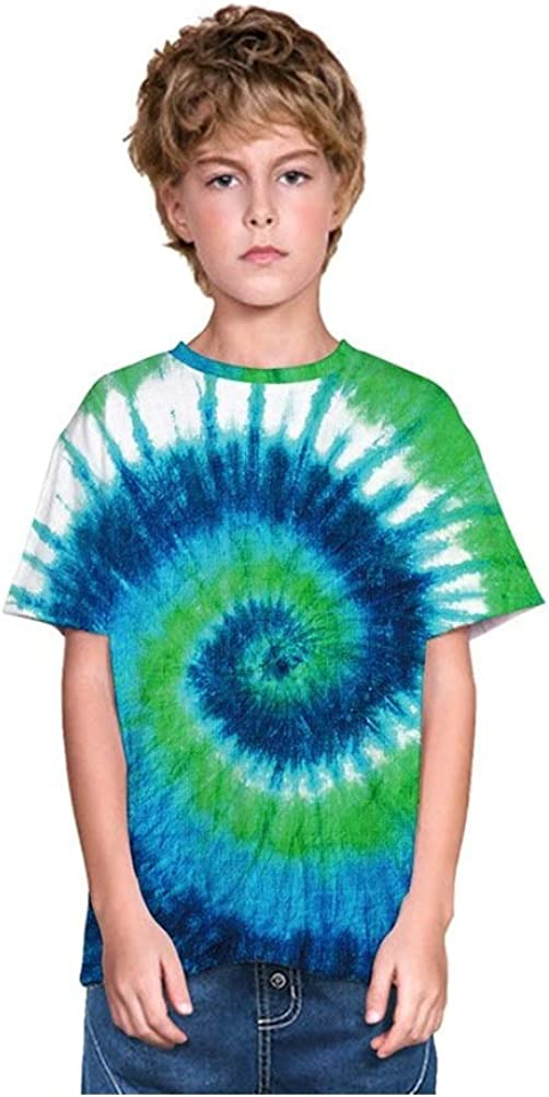 Mama Loves Kids Tshirts Boys Tiedye 80s Unisex Summer Tie Dye Outfit for Girls Tiedye Tshirt Toddler