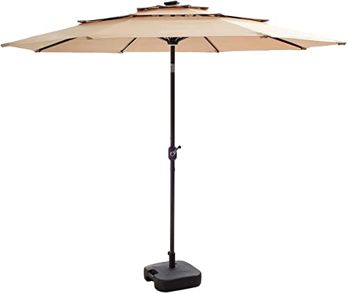 Festival Depot Patio 3 Tiers Umbrella