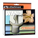 Wand Essentials G-Tip Attachment (White) Includes Free Bottle of Adult Toy Cleaner