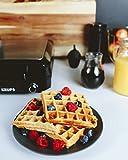 KRUPS Belgian Waffle Maker, Waffle Maker with