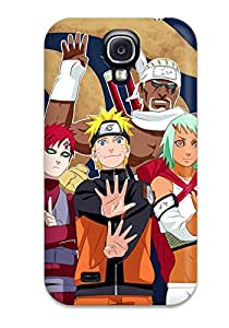 ZippyDoritEduard Scratch-free Phone Case For Galaxy S4- Retail Packaging - Awesome Naruto