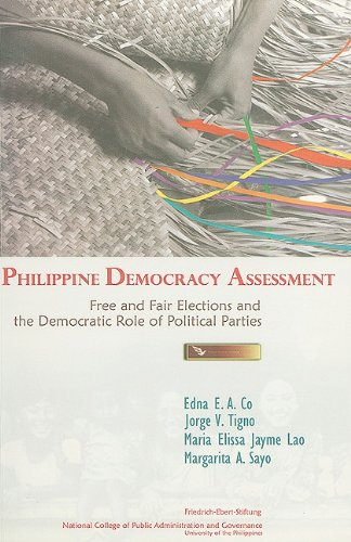 Philippine Democracy Assessment: Free and Fair Elections and the Democratic Role of Political Parties