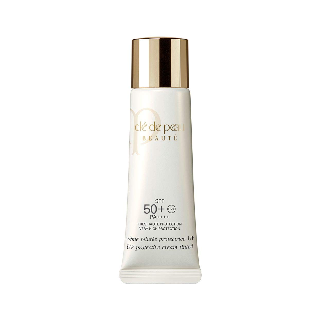 CLÉ DE PEAU BEAUTÉ UV Protective Cream Tinted SPF 50+ 30mL / net 1.2 oz. # Ocher