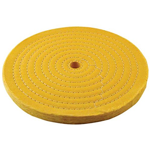Treated Buffing Wheel, 8'' (50 Ply) by PJ Tool & Supply (Image #1)