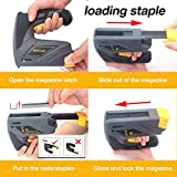 Uniteco Cordless Staple Gun DIY Electric Stapler