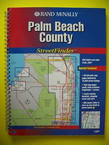 Rand McNally Palm Beach County Streetfinder (Rand McNally Streetfinder)