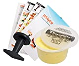 TheraPutty Standard Exercise Putty Yellow 1 LB + Puttycise Knob Turn TheraPutty Exercise Tool + Manual Bundle
