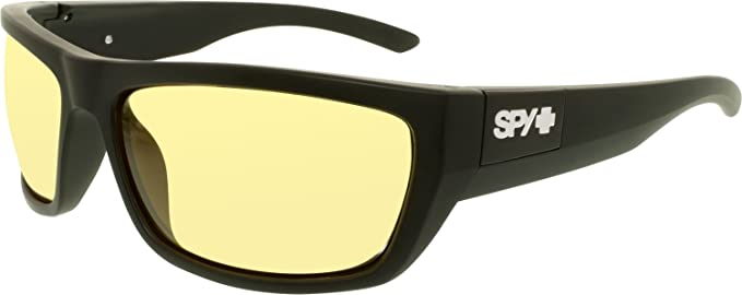 Amazon.com: SPY Optic Dega Wrap - Gafas de sol para hombre y ...
