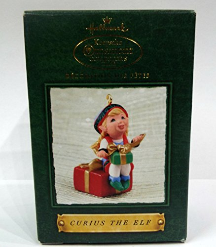 Hallmark Curius the Elf Ornament (Hallmark Keepsake Ornament Collector's Club)