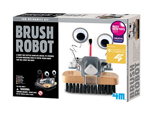 4M Brush Robot (Packaging May Vary) -