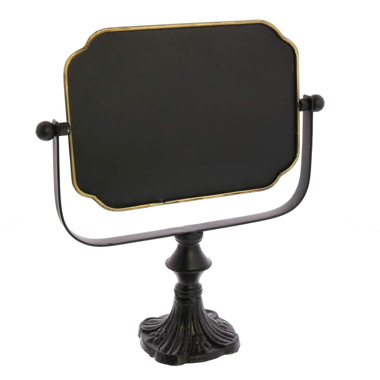 My Swanky Home Vintage Style Swivel Chalk Board on Stand   Message Sign Easel Label Reusable
